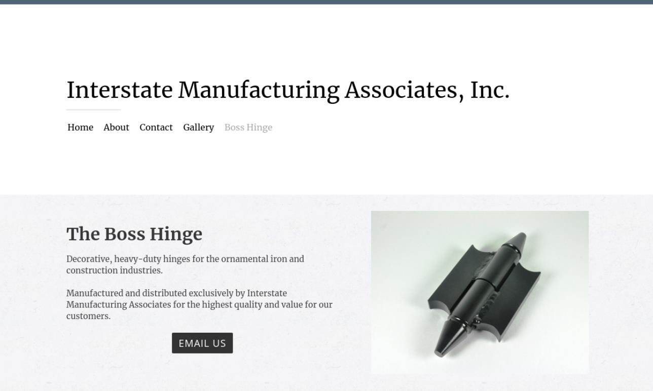 Interstate Manufacturing Associates, Inc.