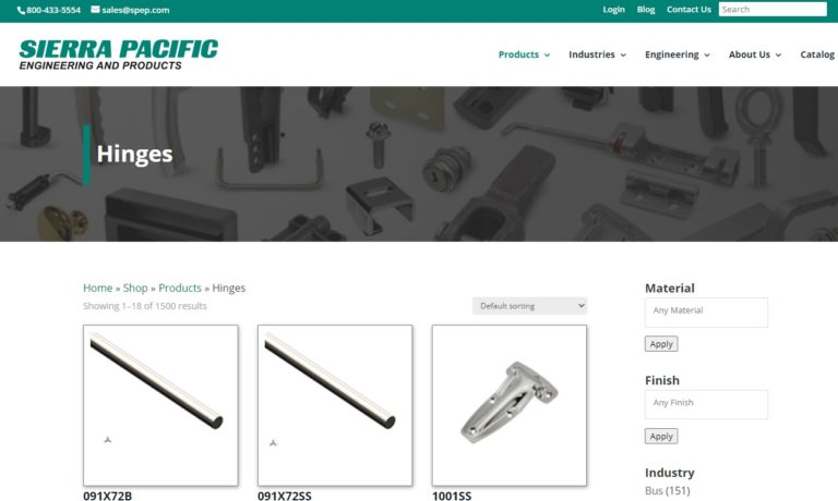 Sierra Pacific Engineering & Products (SPEP)